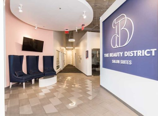 The Beauty District offers a unique salon experience with a variety of beauty professionals and services as well as rentable salon suites for aspiring salon owners in two convenient locations in Phoenix, Arizona.